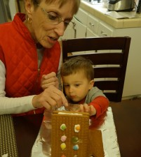 Estate Planning As Explained In Pictures: Gramma Joan and Benny put together their first gingerbread house over the holidays. They were a great team! Gramma was the foreman (mixing, designing, building), and Ben the candy designer, masterfully placing the candies on the frosting. Working together is wonderful when you are on the same page, but in estate planning, sharing the job can be messy…